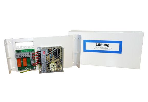 Ventilation control panel AP-N 3/6