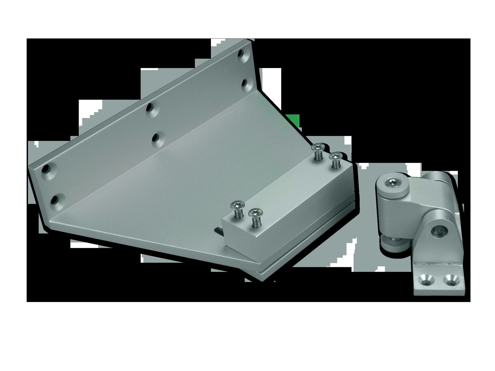 Photo EA-KL2 folding arm accessories for mounting on Raico profiles