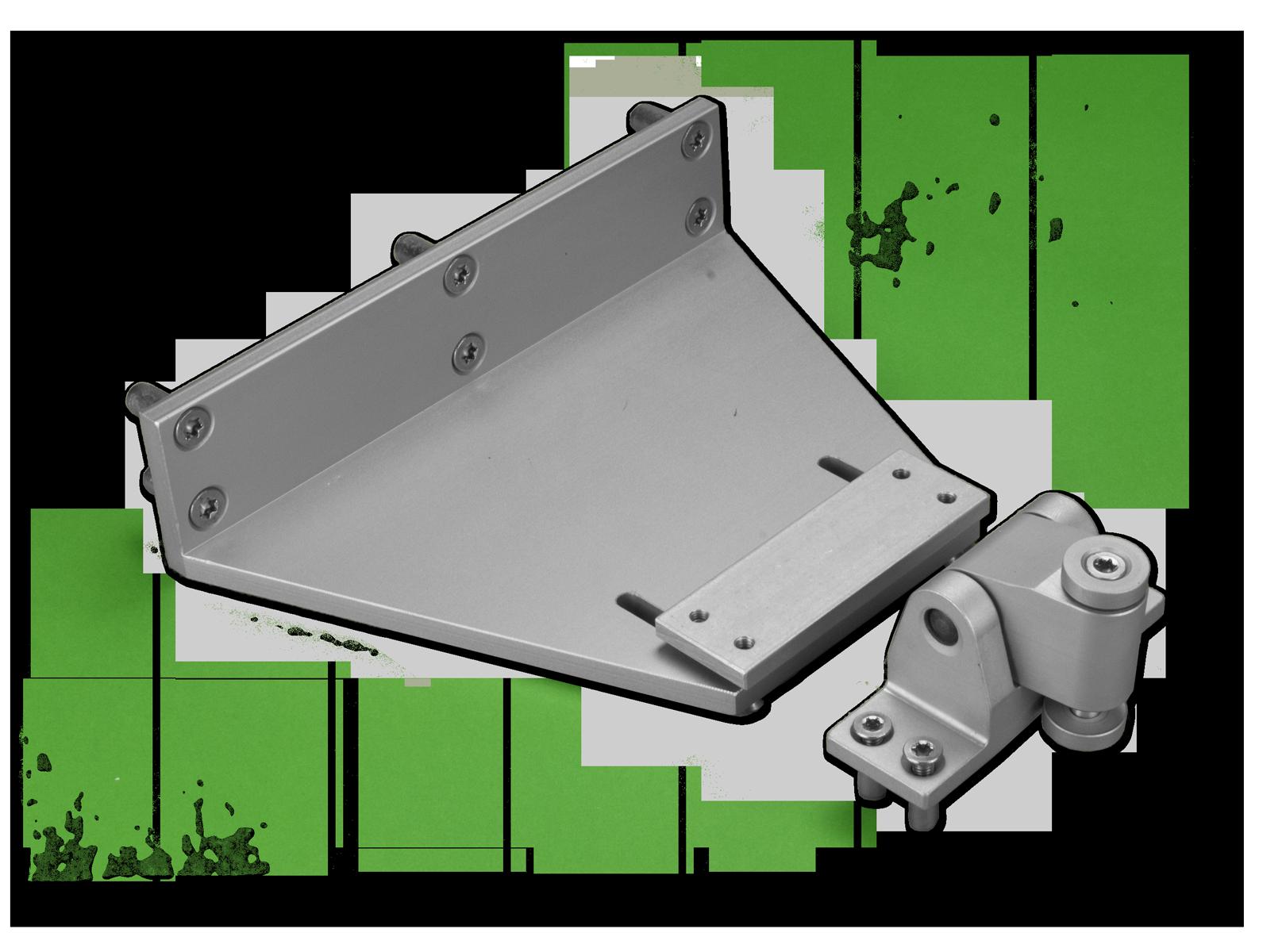 Photo EA-KL2 folding arm for mounting on Schüco profiles