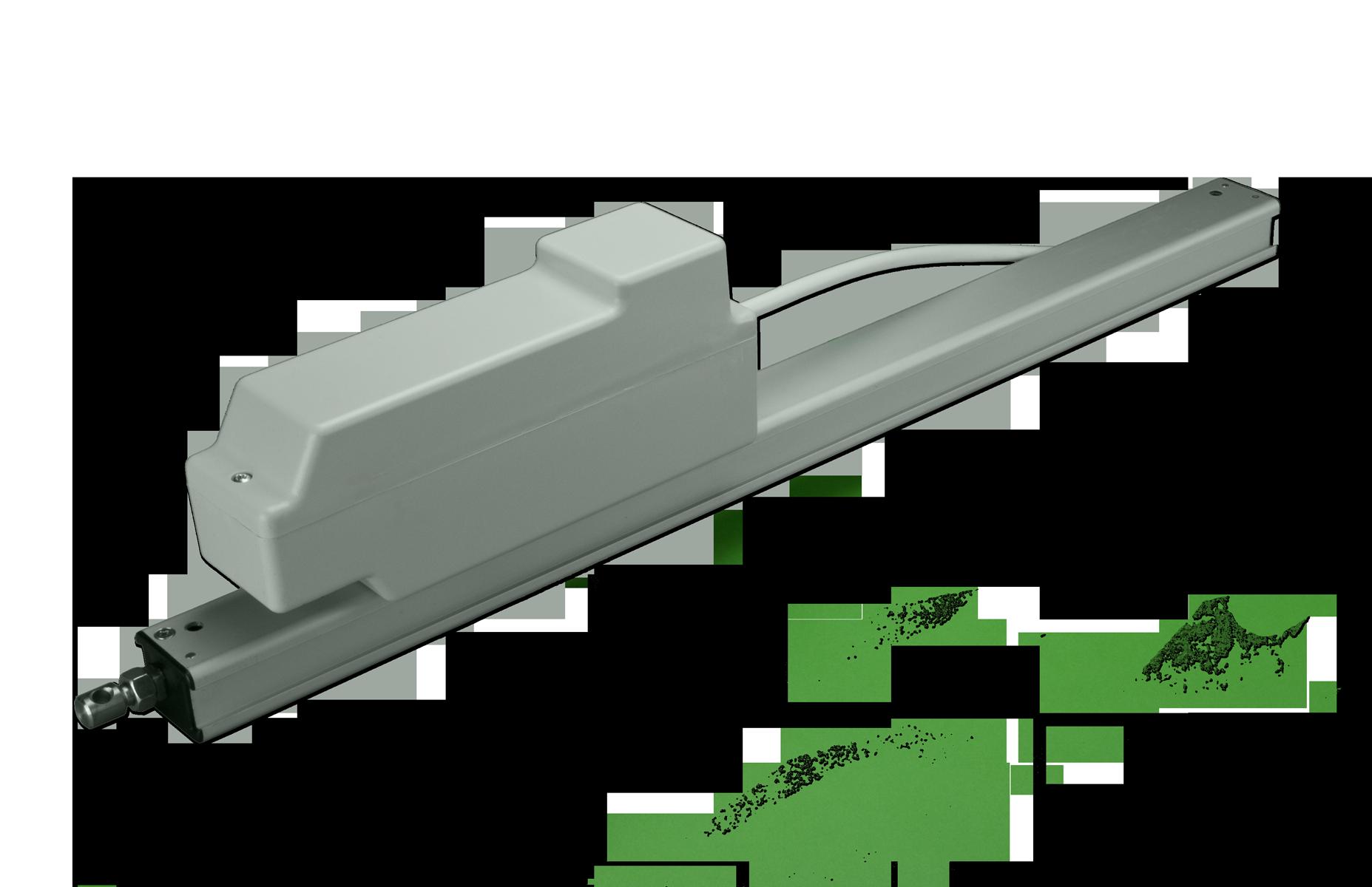 Photo of the gear rack actuator EA-SZ