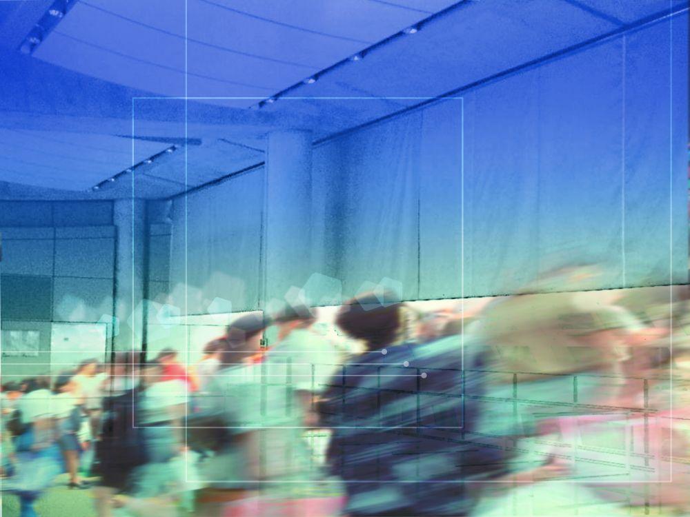 Photo of the smoke curtain Smoke PROtec